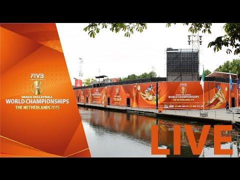 Live: Gold Final - Nummerdor & Varenhorst vs Bruno & Alison - FIVBWorldChamps