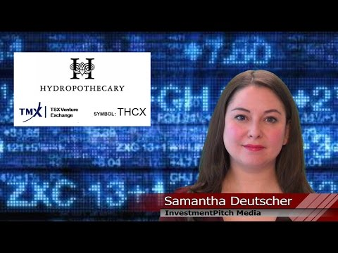 Hydropothecary Corporation started trading on the TSX Venture Exchange under the symbol THCX