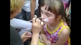 Детский боди-арт на Краснодонской!