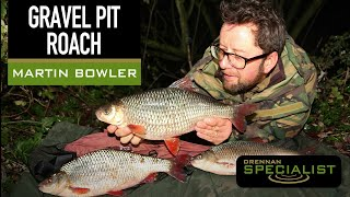 Martin Bowler and his haul of gravel pit roach!