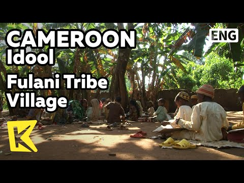 【K】Cameroon Travel-Idool[카메룬 여행-이돌]플라니 부족마을/Fulani Tribe Village/House/School