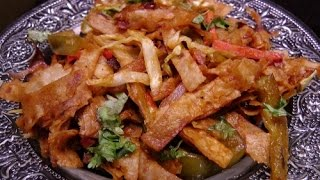 chapati noodles quick and easy recipe