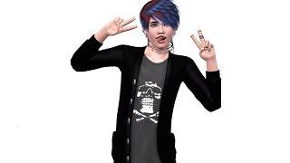 Sims 3-erstelle einen Sim: AJ Miller (Emo)