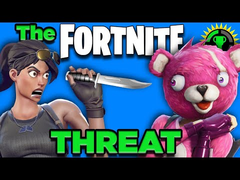 Game Theory:  Does Fortnite Make You VIOLENT? (Fortnite Battle Royal)