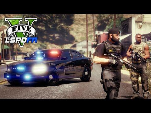 GTA 5 - LSPDFR Ep169 - DEA Drug Enforcement Partner Patrol!!