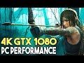 Shadow of the Tomb Raider PC ULTRA Settings 4K Gameplay Performance (GTX 1080)