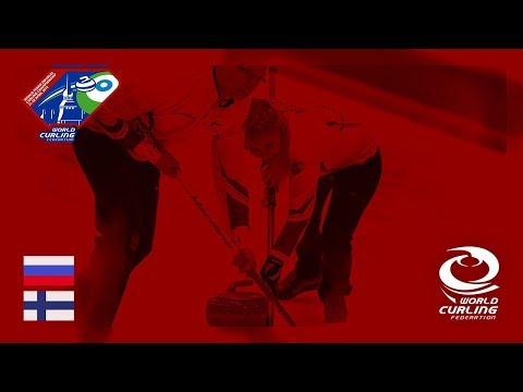 Russia v Finland - Round-robin - World Mixed Doubles Curling Championship 2018