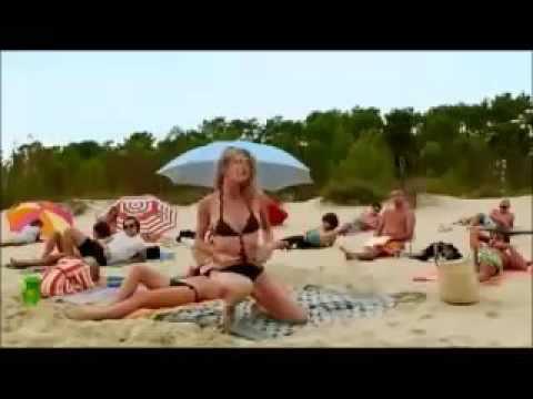 очень смешной случай на пляже