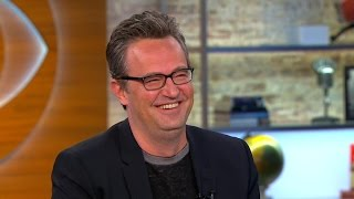 "Matthew Perry on remaking ""The Odd Couple,"" substance abuse and ""Friends"""