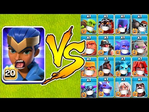 MAX LVL ROYAL CHAMPION Vs. EVERYONE!!