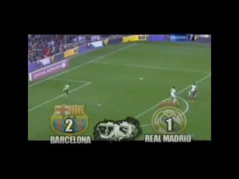 El Clasico Barcelona vs Real Madrid 2013 All GOAL (2-1) Videos De Viajes