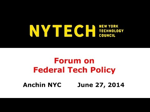 NYTECH Forum on Federal Tech Policy