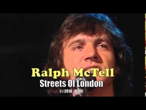 Ralph McTell - Streets Of London (Karaoke)