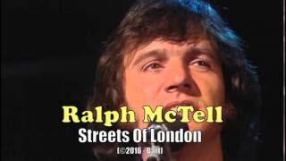 Ralph McTell - Streets Of London (Karaoke)