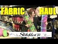 Sewing fabric haul shopping trip to Fabworks