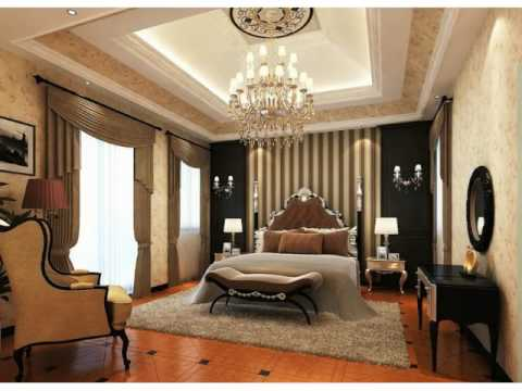 Master Bedroom High Ceiling Decorating