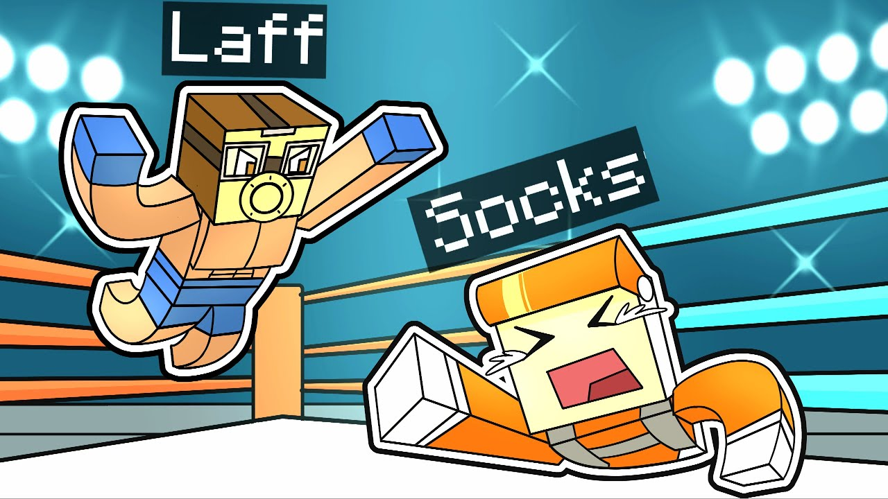 Download I BOXED LAFF ON THE MINECRAFT SOCK SMP