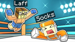 I BOXED LAFF ON THE MINECRAFT SOCK SMP