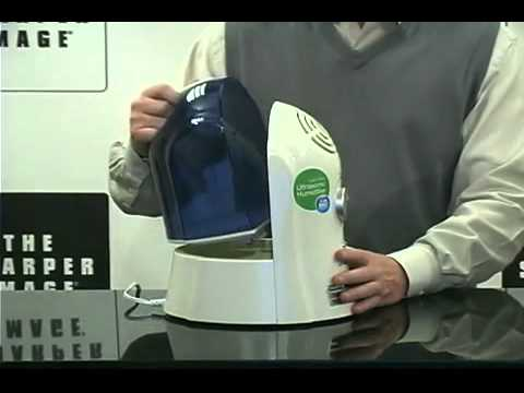 Sharper Image Cool Mist Ultrasonic Humidifier Product Overview Hq