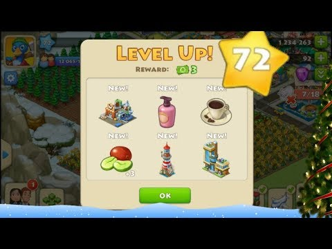 TOWNSHIP GAMEPLAY LEVEL 72 !!!!!