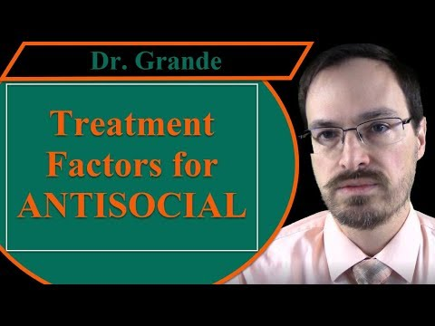 Complicating Factors for Treatment of Antisocial Personality Disorder