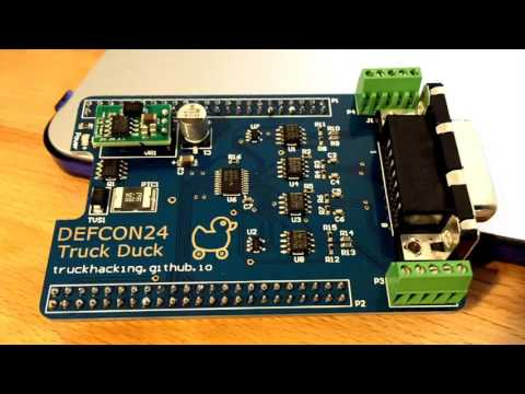 DEF CON 24 - Cheap Tools for Hacking Heavy Trucks