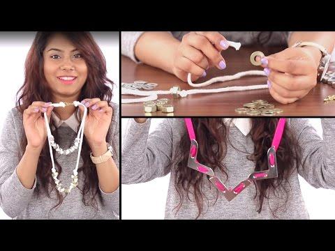 DIY: Hardware Inspired Jewellery