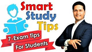 7- Study Tips in Hindi for Students | Best Study Tips | Exams Tips in Hindi by Parikshit Jobanputra