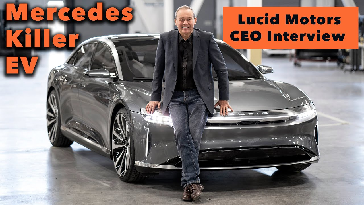 I Interview CEO Peter Rawlinson About the New Lucid Air!
