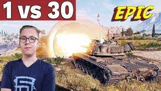 X TIER vs 30 CZOŁGÓW - World of Tanks