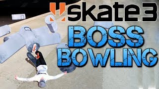 Skate 3 - Part 17 | BOSS BOWLING | I Made My Own Skate Park