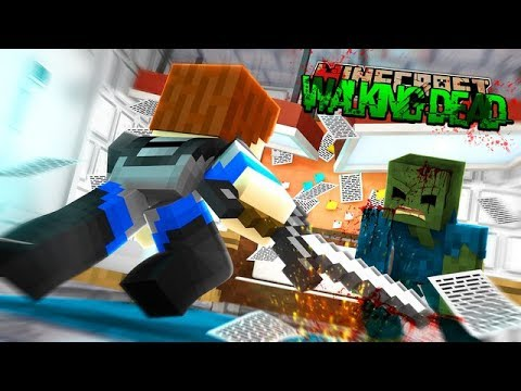 Minecraft THE WALKING DEAD - SHARKY STILL DOESNT KNOW SCUBA STEVE IS ALIVE