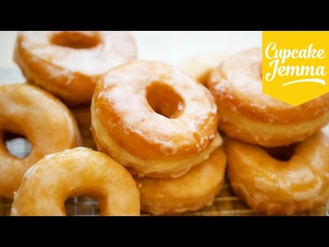 The Best Raised Doughnut Recipe EVER! | Cupcake Jemma