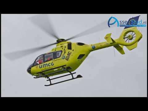Traumahelikopter bij ongeval met safety car op TT Circuit