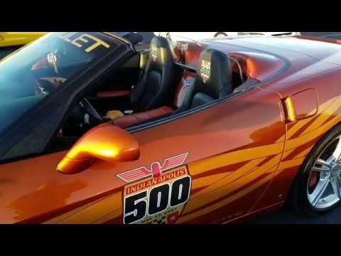 2007 CHEVY CORVETTE CONVERTIBLE INDIANAPOLIS 500 OFFICIAL PACE CAR