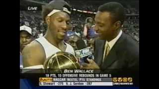 Detroit Pistons 2004 Championship Run in Review (Fox Sports Detroit)