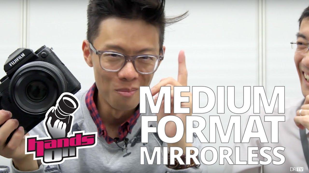Fujifilm GFX 50S Hands-on First Impression