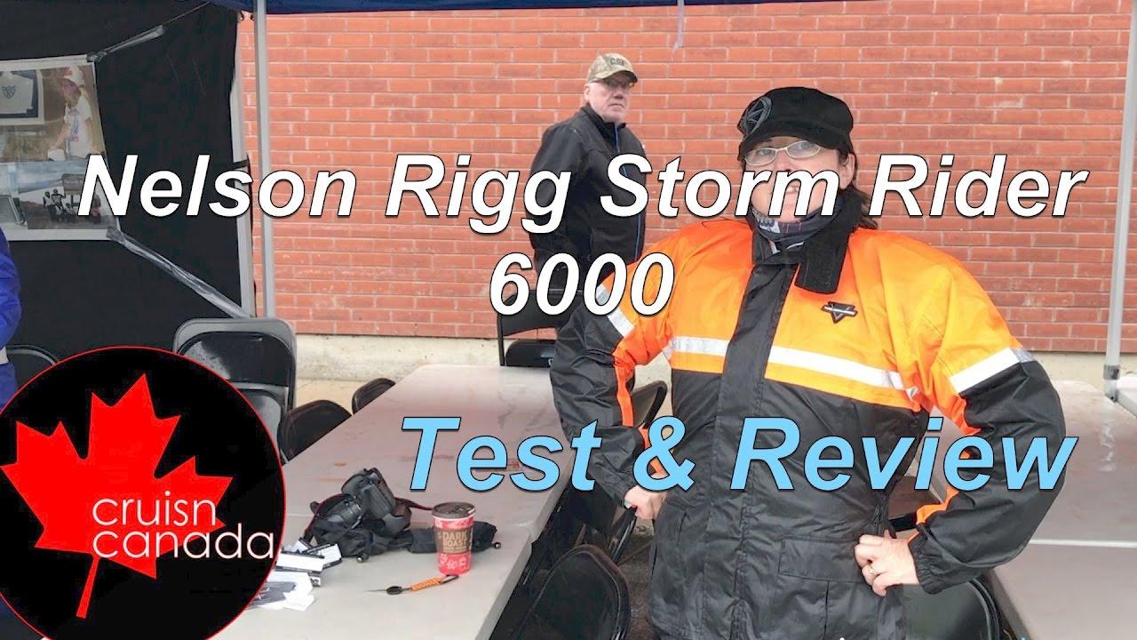 Nelson Rigg SR-6000 Stormrider Two-Piece Rain Suit Black XXL SR-6000-BLK-05 XXL