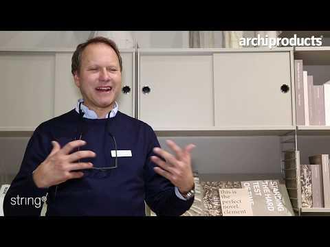 Stockholm Furniture & Light Fair 2019 | String Furniture - Peter Erlandsson presents String System