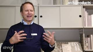Stockholm Furniture & Light Fair 2019 | String Furniture - Peter Erlandsson presents String System