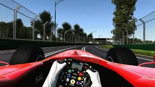 F1 Classic | Ferrari F2004 in Australia | Hot Lap 1:23.882 | Onboard