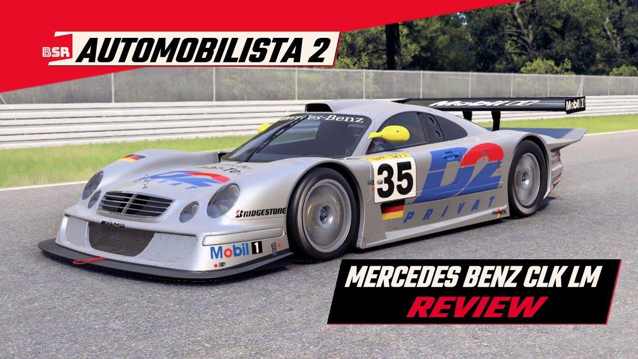 Billy Strange Racing:  Automobilista 2 Mercedes Benz CLK LM review
