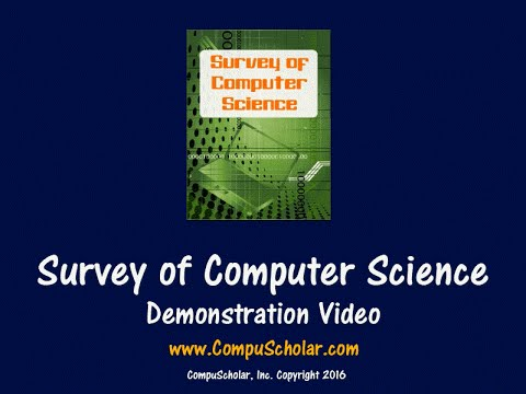 Survey of Computer Science - Online Course