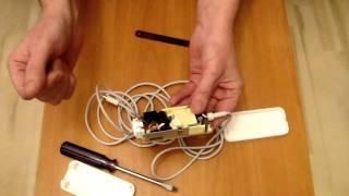 Бөлшектеу, жөндеу және қоректендіру блогы 12в Model No: А1202 Apple
