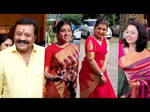 ഭാമയുടെ വിവാഹത്തിനെത്തിയ താരങ്ങൾ | Celebrities At Bhama Wedding