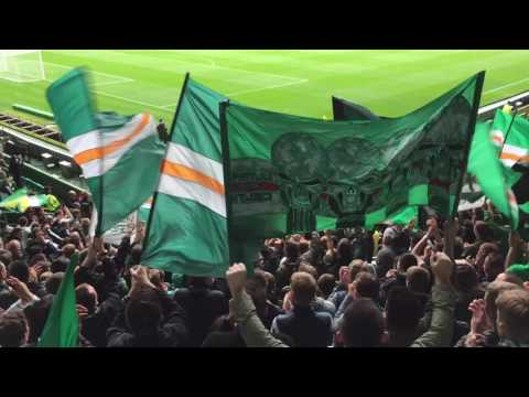 Celtic Fans - Safe Standing Section - Green Brigade - Brendan Rodgers