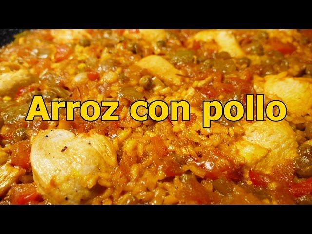 Arroz Con Pollo Y Verduras Receta