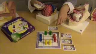 Eksempel på spil der giver bevægelse og optræning af logik, perception og hukommelse.