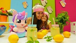 #yemekyapmaoyunları. Mini Mutfak! #MyLittlePony için limonata yapıyoruz!#eğiticivideo