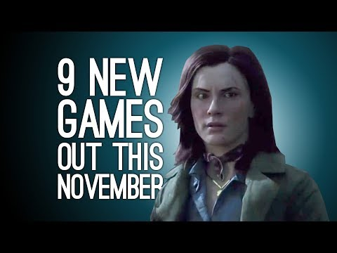 9 New Games out in November 2017 For PS4, Xbox One, PC, Switch